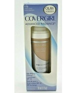 CoverGirl Advanced Radiance Age Defying Foundation 110 Classic Ivory SPF 10 - $10.40