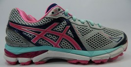 Asics Gt 2000 V 3 Size 7.5 M(B) Ue 39 Femmes Chaussures Course Gris Rose T550n