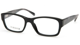 NEW BURBERRY B2127 3001 Black EYEGLASSES FRAME B 2127 52-17-140mm Italy - $74.24