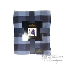 Pendleton Luxe Throw Blanket Blue Rob Roy 50 in x 70 in New with Tags! - $69.19