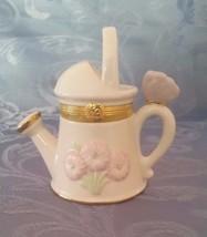 Lenox Lenox Sunshine & Sprinkles Treasures Watering Can Trinket Box NO B... - $6.79