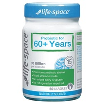 Life Space Probiotic For 60+ Years 60 Capsules - $122.51