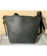 COACH 21377 Small Duffle Leather Crossbody NWT - $158.39