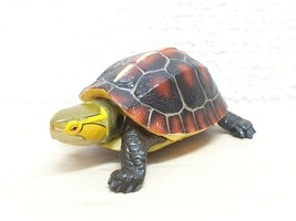 Kaiyodo Natural Monuments YELLOW MARGINED BOX TURTLE animal figure choco q - $12.73