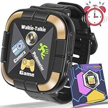 "1.5 ""Touch Kids Game Smart Watch [Walkie Talkie Edition] for Ages (B-black) - $50.89"