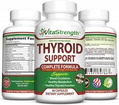 Thyroid Support - Complete Formula to Help Weight Loss & Improve Energy - $48.76