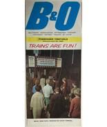 B&O RR Passenger Railroad Timetable April 25, 1965 - $9.89