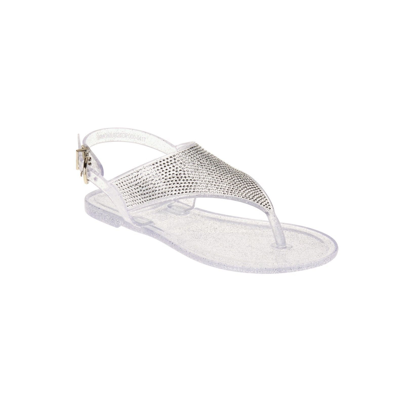 666f98c6a Girls Rhinestone Jelly Sandal Clear Glitter and 50 similar items. 57