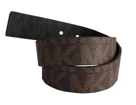 Michael Kors Women's Signature Reversible Circle MK Logo Belt 551342 image 4