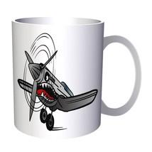 Attack Plane Shart Teeth Monster  11oz Mug z215 - $14.28 CAD