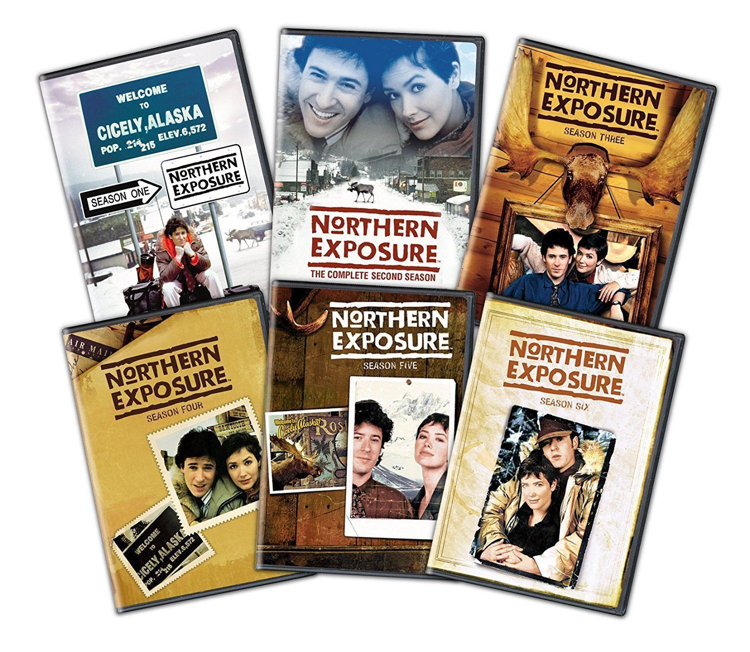 Northern Exposure Complete Series Seasons 1-6 [DVD Sets New]