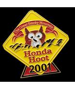 Collectible Sealed New Honda Hoot pin Great Smoky Mountain Motorcycle Ra... - $14.55
