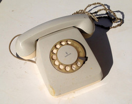 vintage siemens rotary telephone 1960's great condition - $31.80