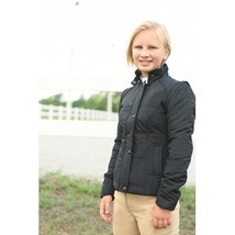 KAKI Child Youth Puffer Jacket Black size 4 - zip off sleeves! image 1
