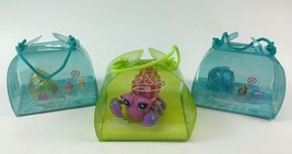 Xia Xia Toy Hermit Crab Pink and Accessory Packs 3pc Lot Cepia 2011 Sealed - $16.88