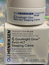 NEW W BOX OLE Henriksen Goodnight Glow Retin-ALT Sleeping Creme Cream .25oz/7mL