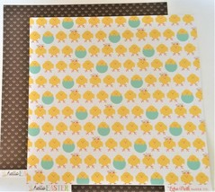 """Echo Park """"Hello Easter"""" 12x12 Cardstock Paper (10 Sheets)"""