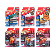 Muscle Cars USA 2018 Release 2 Set B of 6 1/64 Diecast Model Cars by Joh... - $69.02
