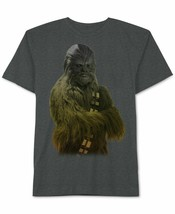 Star Wars Mens Chewbacca Ombre Graphic T-Shirt Size XXL - $18.80
