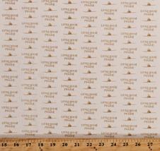 Cotton Jo Morton Flowers Best Friends Tiny Floral Sprig Fabric Print BTY M719.06