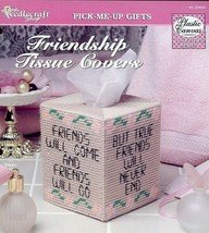 Friendship Tissue Covers TNS Plastic Canvas Pattern Leaflet - $2.67