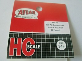 Atlas # 4002019 Tall Air Compressor 6 Pieces 3D Printed Accessories HO Scale image 2