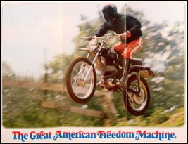 1973 Harley-Davidson ORIGINAL SR-100 Brochure Xlnt Motorcycles - $19.50