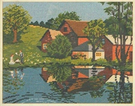 Primary image for Bucilla Summer Reflections #4518 Needlepoint Kit