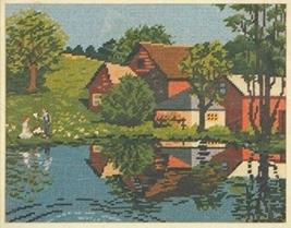 Bucilla Summer Reflections #4518 Needlepoint Kit - $87.99