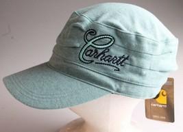 Nwt Carhartt Femmes Coton Assèchement De L'Humidité Everton Chapeau Écume Vert