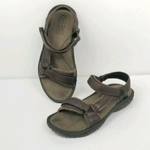 Teva Leather Waterproof Sport Sandals Shoes 6328 Womens Size 8.5 Brown S... - $35.53