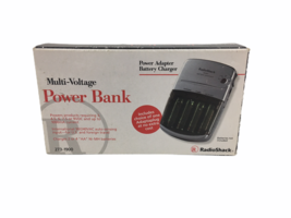 Radio Shack Multi-Voltage Battery Charger Charging Station Power Supply ... - $14.87