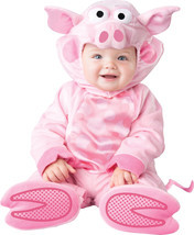 Infant Toddler Precious Piggy Pig Animal Costume size 12-18 - ₨2,183.89 INR