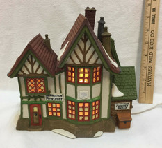 Department 56 Hembleton Pewterer Dickens Village Dept Heritage Christmas House - $19.75
