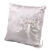 Ivy Lane Design Cherry Blossom Collection, Ring Bearer Pillow, Ivory - $32.96