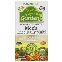 Nature's Plus, Source of Life Garden, Men's Once Daily Multi, 30 Vegan T... - $36.58