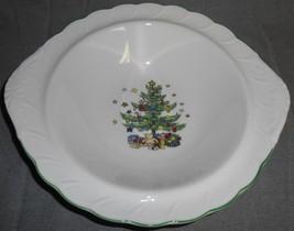 Nikko HAPPY HOLIDAYS PATTERN Vegetable or Serving Bowl MADE IN JAPAN - $34.64