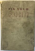 Vtg 1971 Fix Your Ford Service Manual V8 V6 1972 - 1960 book catalog (OR-3-19) - $9.89