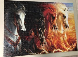 Jigsaw Puzzle 1500 Pieces The Four Horses of the Apocalypse 24 x 33 inch image 9