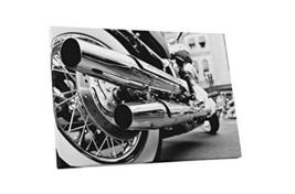 "Pingo World 1218PY1DBIS ""Pop 'Motorcycle Chrome Pipes'"" Gallery Wrapped Canvas A - $47.47"