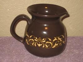 Franciscan Ware JAMOCA Creamer Dark Brown & Gol... - $11.83
