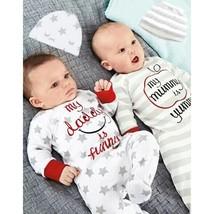 Newborn Kids Baby Boy Girl Romper Jumpsuit Bodysuit+Hat Clothes Outfit S... - $17.40