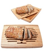 Crumble Chic Wooden Bamboo Bread Cutting Board - Perfect Personalized Gift - $49.99