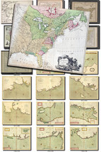ANTIQUE MAPS-11 Collection of 150 large size images printable old ancien... - $1.98