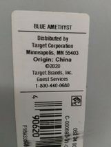 Made by Design Solid Easy Care TWIN/XL TWIN  BLUE AMETHIST - SEALED NEW! image 4