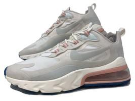 Womens Nike Air Max 270 React White/Ghost Aqua Size 9.5 (Worn 2X) AT6174-100 - $99.00
