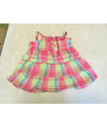 0-3 Months Baby Girls Faded Glory Sundress Pink Thrill - $4.99