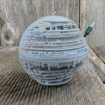Death Star Hallmark Keepsake Magic Christmas Ornament Star Wars Lights a... - $91.07