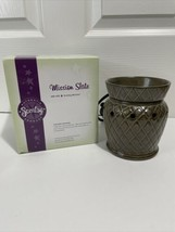 Scentsy Mission Slate Mid Size Warmer - $24.99