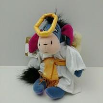 "Disney Store Eeyore Angel Christmas Plush Stuffed Animal 9"" - $17.82"